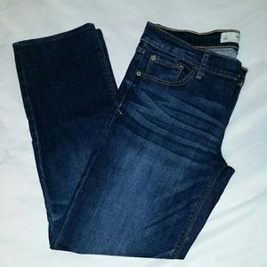 Abercrombie and Fitch ankle jeans.